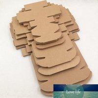 24 Pcs multi format papier rétro papier kraft boîtes avion pour gâteau grand événement Pizza Cookies Marchandises Cadeaux de stockage de conteneur Boîte
