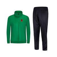 2021 Албания Новый стиль футбольный мужской куртка с брюками спортивная одежда футбольный трексуит взрослых детская одежда набор