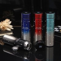 Fashionable 304 stainless steel vacuum flask, smart touch sc...