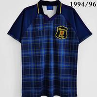 Top 1994/96 Rétro Scotlands Soccer Jerseys Home Hendry 5 Collins 11 McKinlay 17 Classic Camisetas de 1988/90 Kit de chemise Futbol Thaïlande 1991/93 Tablette de football Taille S-XXL