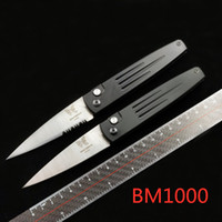 벤치 메이드 BM 1000 자동 자동 EDC 전술 생존 포켓 나이프 S30V는 535 940 781 530 550 3350 3551 3300knife T6061 알루미늄 핸들 블레이드