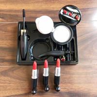 Marke 6in1 Makeup Sets Lippenstift Gesicht Powder Foundation BB CC Cremes Wasserdichte Mascara Eyeliner Stift 6in1 Makeup Set