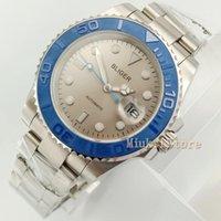 40mm Masculino Aydınlık Otomatik Üst Marque Bilezik Montre Spor Relogio Luxe Hommes Tarihi Horloge Spor Montres Hommes Blue1