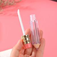 5ml Esvaziar garrafas Lip Gloss tubo recipiente transparente Lip Balm Tubes Lápis Forma Lipstick Moda recarregáveis Lipgloss Garrafas DHL livre