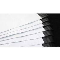 45 * 55 cm Beyaz Kendi Kendini Mühür Posta Çantaları Plastik Zarf Kurye Posta SQCOCM Sports2010