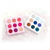 VMAE Hot Sale Wholesale 9 Colors Marbel Palette Luxury Eyeshadow Long Lasting Custom Private Label Makeup Eyeshadow Palette No logo