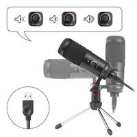 Mikrofonlar USB Mikrofon Vokalleri Kayıt Gaming Live Broadcast Mic Dizüstü Bilgisayar1