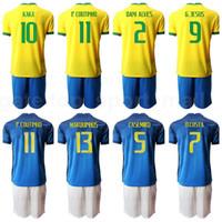 كرة القدم 11 فيليب كوتينهو جيرسي مجموعة 9 غابرييل يسوع 7 ديفيد نيريس 2 سيلفا 13 داني ألفيس 5 كالييرو لكرة القدم قميص أطقم B-X
