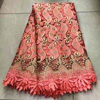 красочные African ткань шнурка 2019 вышивки нигерийский бисер кружева Fabric.High качества камни французский тюль ткань шнурка для женщин