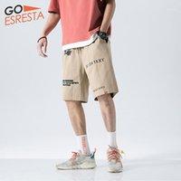 Erkek Şort Goesresta 2021 Yaz erkek Renkli Vahşi Rahat Spor Koşu Pamuk Büyük Boy M-5XL Basit Moda Pantolon Erkekler1