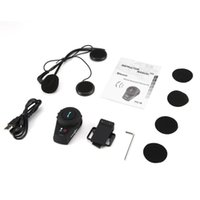 FDC VB 500m Motocicleta BT Interphone Motorbike Capacete Sem Fio Intercom FM Headset Portátil Mini Interphone