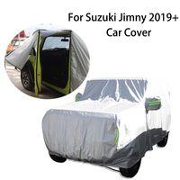 Couverture de voiture Couvercle de protection anti-poussière anti-poussière anti-poussière pour suzuki JIMNY 2019+ accessoires extérieurs de voiture