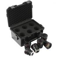 Meike T2.2 Cine Lens Kit (optioneel: elke 3 MFT-brandpuntsafstanden: 12 mm 16mm 25mm 35mm 50mm 65 mm) met een Cine Lens Case-Fast Delivery1