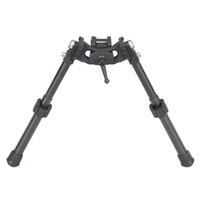 Canis Latrans LRA Light Hunting BiPod Long Riflescope BiPod per la caccia del fucile Scope Colore nero CL17-0031