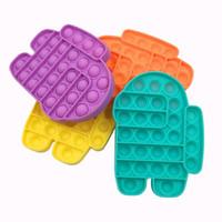 Us stock mode kinder push blase fidget spielzeug party begünstige geschenke stress reliever hilft, spielzeug zu quetschen