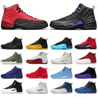 nike air jordan retro 12 jordans Jumpman 12 Stock x 12s Kadınlar Basketbol Ayakkabı x stok XII Üniversitesi Altın Altın Eğitmenler Concord Taş ovo Beyaz Bulls Spor ayakkabılar