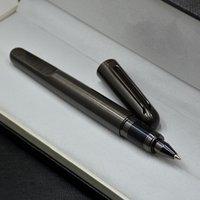 Top Luxus MT Magnetische Stift Limited Edition M Series Grau und Silber Metall Rollerball Pene Schreibwaren Schreibende Bürobedarf als Geburtstagsgeschenk