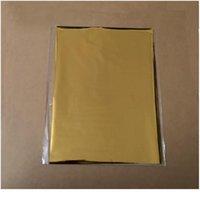 50pcs colore misto oro argento timbratura a caldo stagnola laminatore di carta Trasferimento su eleganza Stampante laser Carta artigianale 20x29cm Qylqyn