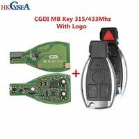 الأصلي CGDI MB كن مفتاحا للجميع حتى FBS3 315 / 433MHZ احصل على 1 رمزية مجانية للمبرمج المفتاح CGDI MB مع حالة عن بعد و Blade1