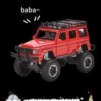 01:32 محاكاة Diecasts معدنية لعبة سبيكة SUV نموذج المركبات السيارات مع هدايا ضوء الصوت JEEP ألعاب للأطفال مجموعة