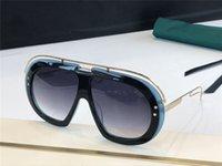 1833 النظارات الشمسية الجديدة رجالي والنساء شكل مستطيل الشكل أزياء الشعبية نمط الصيف مع أعلى حماية الأشعة فوق البنفسجية مقاوم للمحقق مع صندوق