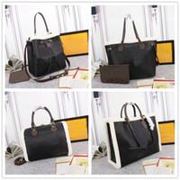 Новый модный дизайнер OnThego Teddy Tottes сумки M55420 большие сумки емкости дуплекс печать покупок сумки M56963 M56966 M56960 M56958