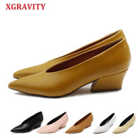 XGRAVITY Hot Summer Autumn Designer Vintage Evening Shoes La...