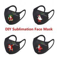 Europa-freies Verschiffen Blanks Sublimation Gesichtsmaske DIY-Ohr-Bügel kann für den Thermotransferdruck angepasst werden