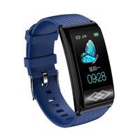 P10 nuova smart braccialetto 24 ore orologio ossimetria pressione sanguigna misura la salute dinamica ECG intelligente Braccialetti trasporto libero