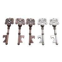 Ключ в форме бутылки открывалка творческий ретро металлический скелет свадьба сувенирный декор подарочные вечеринки одолжение пиво открывающие поставки VTKY2369