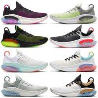 nike joyride flyknit Atacado 2020 novo de alta qualidade Joyride Run FK FLY MALHA Homens Mulheres Running Shoes roxo Vela Luz Silver Ocean Outdoor Sapatos de desporto 36-45