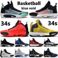 New Jack OG chaussures de basket-ball de 34s mi Chicago orteil royal formateurs or métallique noir pin noir vert UNC brevet Hommes Femmes Sneakers