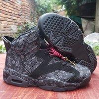 Moda single day jumpman 6 sd wmns mens scarpe da basket 6s peonia fiore nero cny metallico oro uomini formatori sportivi sneakers 40-47