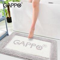 Gappo 비 슬립 목욕 매트 60 * 욕실에서 90cm 욕실 카펫 매트 편안한 목욕 패드 침실 욕실 러그 210201