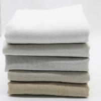 "5pcs 20 ""x 18"" tessuto di lino naturale per ago da ricamo Patchwork Costura Tissus cucire Tessile Tela Felt Shabby"