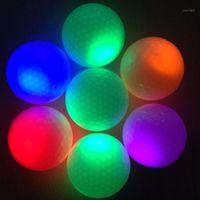 Elos-Light-Up Мигающий ночной свет светящийся флуоресцентный гольф шарики гольф1