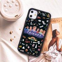 حار بيع الأزياء الأزياء المعدنية أصدقاء القضية الهاتف المحمول آيفون 7 8 11 11Pro 11Pro ماكس سقوط واقية شل دي إتش إل الحرة