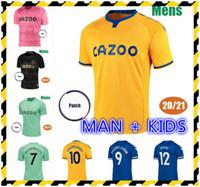 2020 2021 James Rodriguez Soccer Jerseys 20 21 Sigurdsson Kean Delph Gbamin André Gomes Richarlison Man Kids Football Shirts