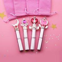 En İyi Kalite Sıcak Satış Sailor Moon Ayarlanabilir Sihirli Değnek Fırça Göz Farı Makyaj Fırçalar Kontur Karıştırma Kozmetik Fırçalar Aracı Ücretsiz Kargo