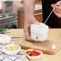 Tirare manualmente il mini aglio della pressa dell'aglio schiacciata schiacciata Garlics utile Prodotto Prodotto Prugno aglio Aglio Shredder Home Cucina Grattugia DB 11 K2