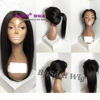 Perruque de dentelle avant perruque d'une perruque de dentelle pour femme afro-américaine 12-26inch perruque résistante à la chaleur 12-26inch