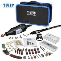 TASP 230 فولت 130 واط دريميل أداة دوارة مجموعة الكهربائية مصغرة الحفر حفارة كيت مع الملحقات أدوات السلطة للمشاريع الحرفية C1220