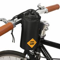 Bicicleta guidão saco de alimento alimento Snack armazenamento garrafa de água bikepacking bolsa de bicicleta turning pendular bolsa isolada