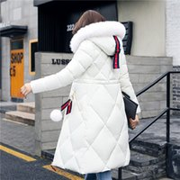 2020 Winter Jacket Women Duck Coat with Large Advanced Fabri...