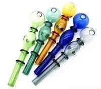 14 мм красочный двойной пузырьковый стеклянный прямой горшок оптом стеклянные бонги нефтяные горелки стеклянные трубы водопроводные трубы нефтяные буфет масло FY2504
