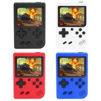 8 Bit 3 inç El Retro Video Oyun Konsolu 400 Oyunlar El Oyuncu Taşınabilir Mini Retro Konsol Çocuklar için Yetişkin