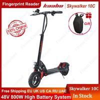 Kaabo Skywalker 10c Einzelantrieb 10 Zoll Reifen Faltbare Elektroroller 60V 1000W Elektrischer Roller