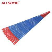 ALLSOME 10pcs High Carbon Stahl Hacksaw Blades 300mm Metallverarbeitung Sägeblatt für das Schneiden von Metall Werkzeuge HT2411