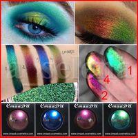 CmaaDu 4 ألوان النساء مثير الساحرة بريق عينيه الشفاه مسحوق الماس فضفاض عيون صبغات وميض مستحضرات التجميل المعدنية