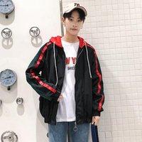 Erkek hoodies tişörtü 2021 desen tarzı çizgisiz üst giysi severler gevşek ceket hongkong hoodiess siyah ve yeşil kırmızı Fas
